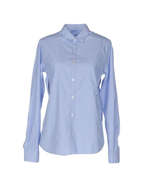 Golden Goose Deluxe Brand - Blue Shirt - Lyst