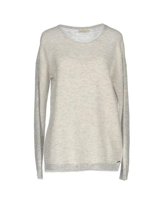 Calvin Klein Jeans - Gray Jumper - Lyst