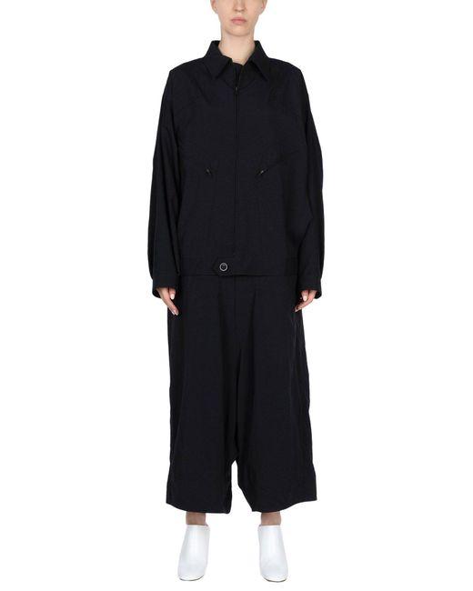 Y's Yohji Yamamoto - Black Jumpsuit - Lyst
