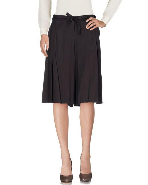 Liu Jo - Brown Knee Length Skirt - Lyst
