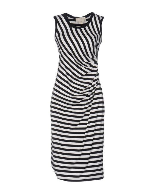 Nicole Miller Artelier | Black Knee-length Dresses | Lyst