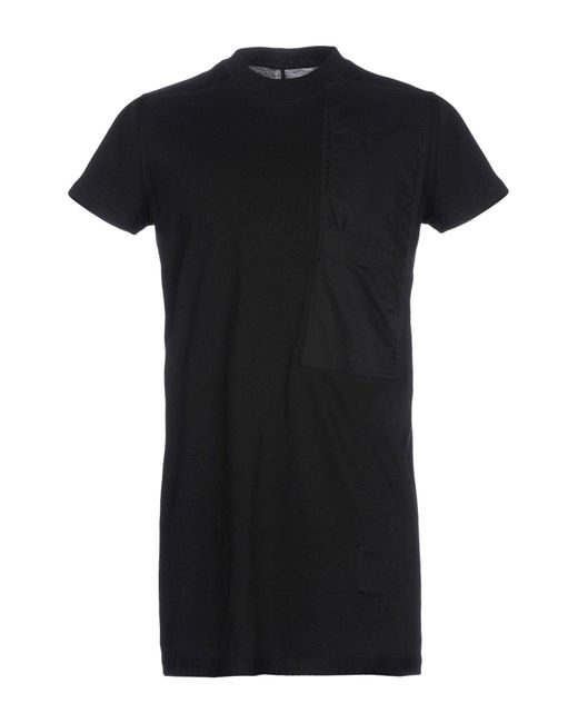 DRKSHDW by Rick Owens - Black T-shirt for Men - Lyst