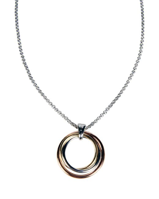 Fossil   Metallic Necklace   Lyst