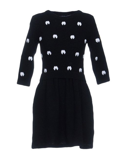 Boutique Moschino - Black Short Dresses - Lyst