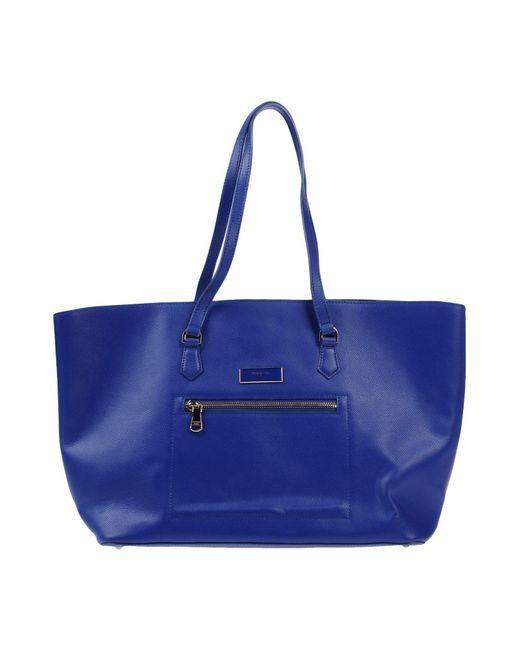 Patrizia Pepe - Blue Shoulder Bags - Lyst