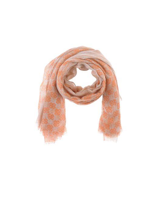 Cruciani - Orange Scarf - Lyst
