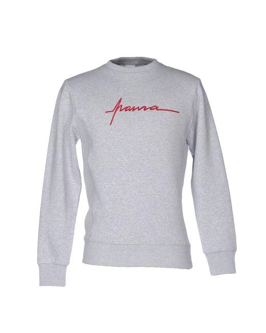 Paura - Gray Sweatshirt for Men - Lyst