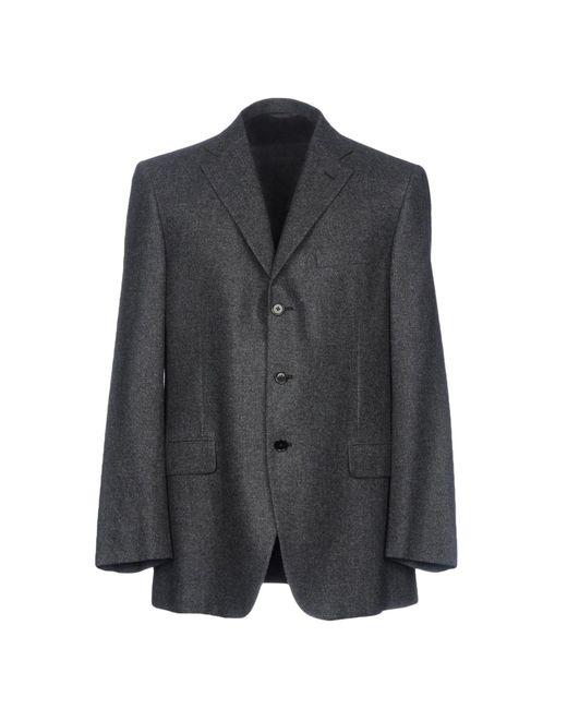 Burberry - Gray Blazer for Men - Lyst