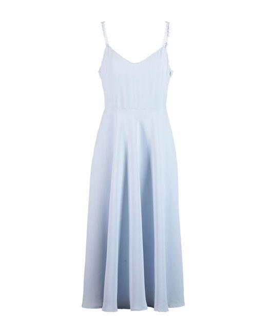 Philosophy Di Lorenzo Serafini Blue 3/4 Length Dress