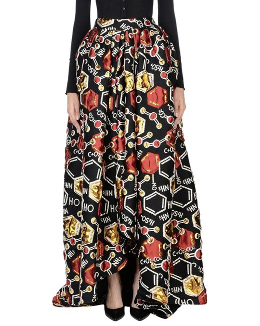 Ultrachic - Black Long Skirts - Lyst