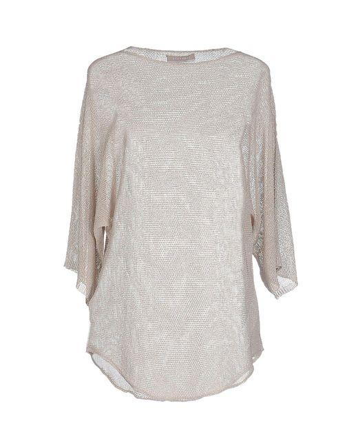 Stefanel - Gray Sweater - Lyst