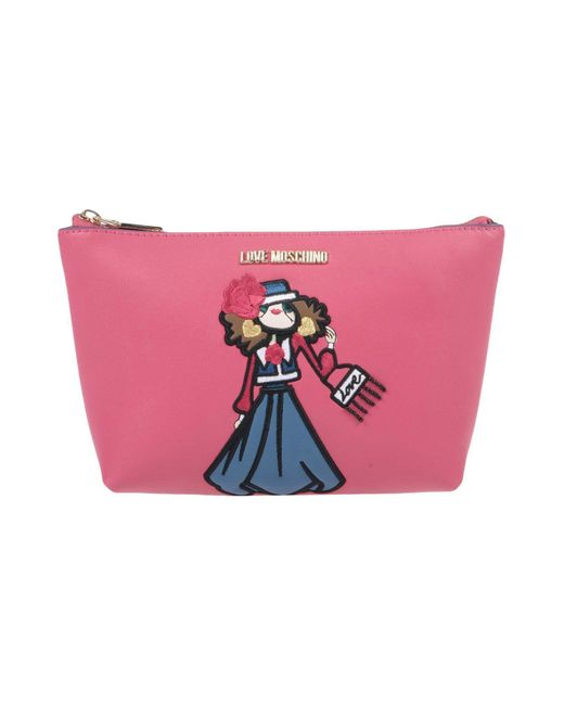 Love Moschino - Pink Beauty Case - Lyst