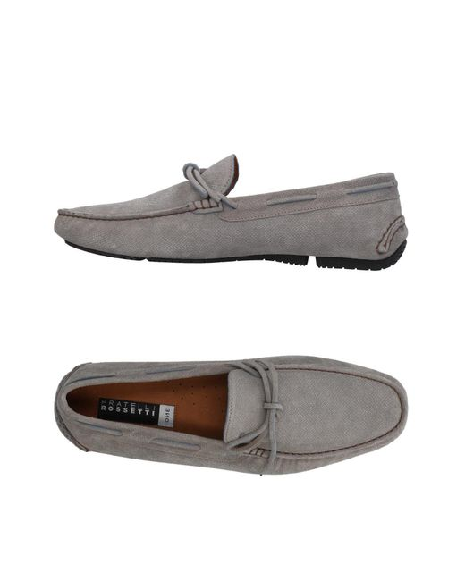 Fratelli Rossetti - Gray Loafers for Men - Lyst