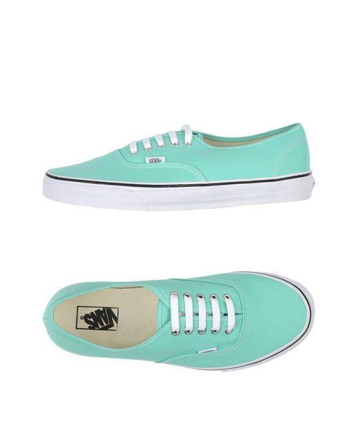 Vans - Green Low-tops & Sneakers for Men - Lyst