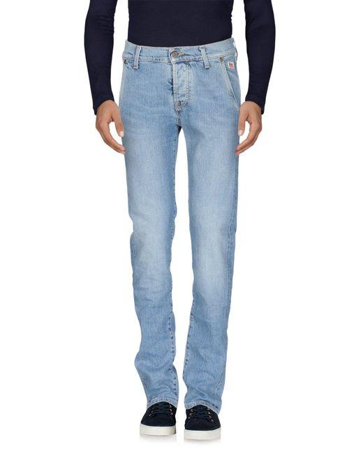 Roy Rogers - Blue Denim Trousers for Men - Lyst