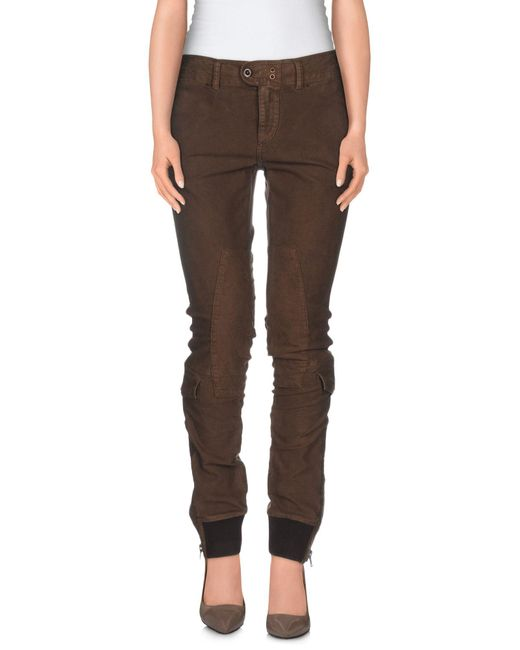 Ralph Lauren - Brown Casual Trouser - Lyst