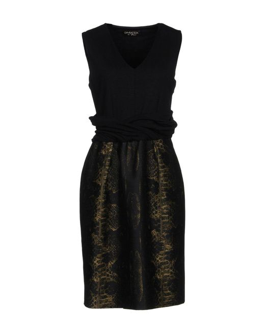Giambattista Valli - Black Knee-length Dresses - Lyst