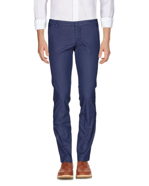 Michael Coal - Blue Casual Pants for Men - Lyst