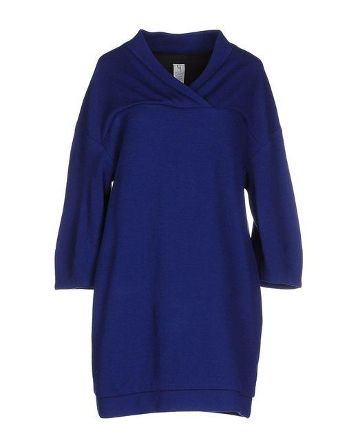 Pinko - Blue Short Dresses - Lyst