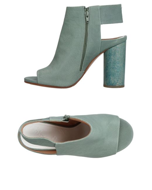 Maison Margiela - Green Sandals - Lyst