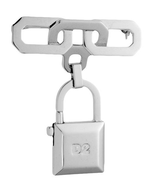 DSquared² | Metallic Brooch | Lyst