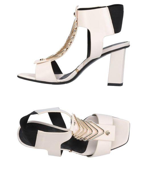 Gianmarco Lorenzi - Natural Sandals - Lyst