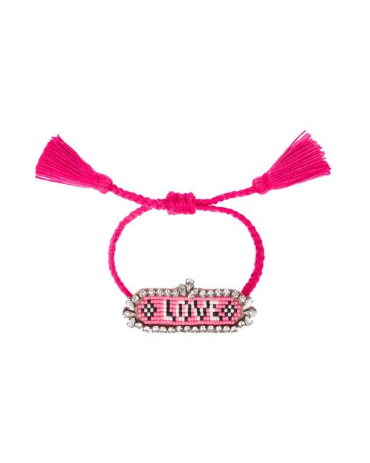 Shourouk | Red Bracelet | Lyst