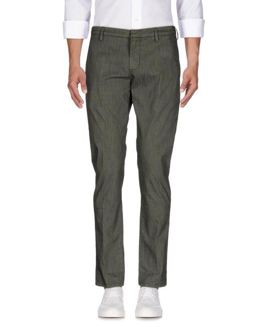 Dondup   Green Denim Trousers for Men   Lyst