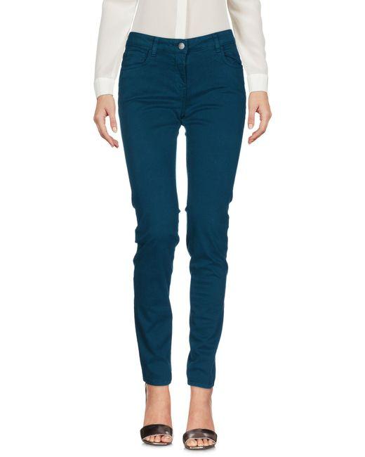 K-Way - Blue Casual Pants - Lyst