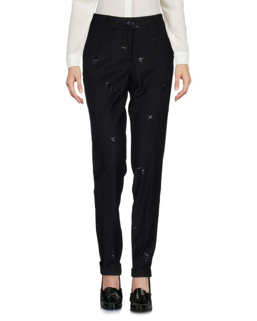 P.A.R.O.S.H. - Black Casual Pants - Lyst