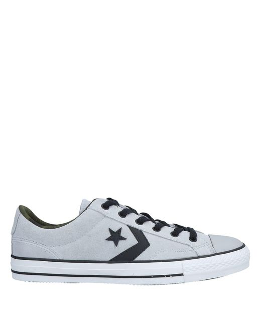 af3683c21f3b Converse - Gray Low-tops   Sneakers for Men - Lyst ...