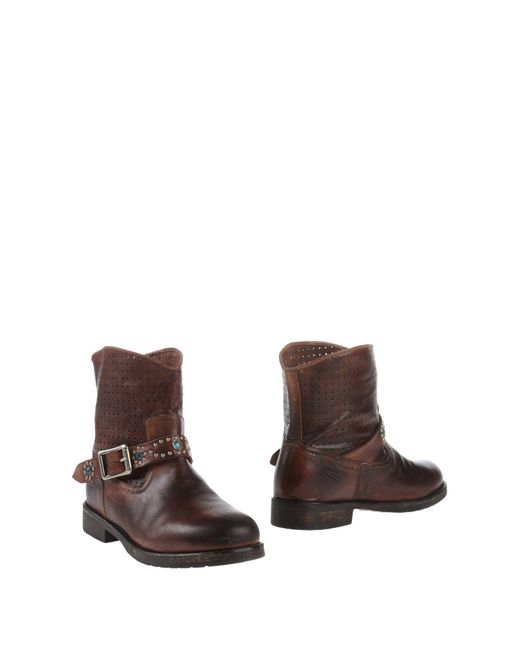 Mr. Wolf - Brown Ankle Boots - Lyst