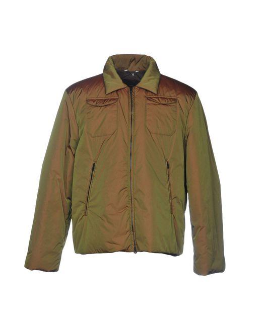Hevò Green Jacket for men