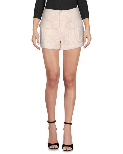Joie - White Shorts - Lyst