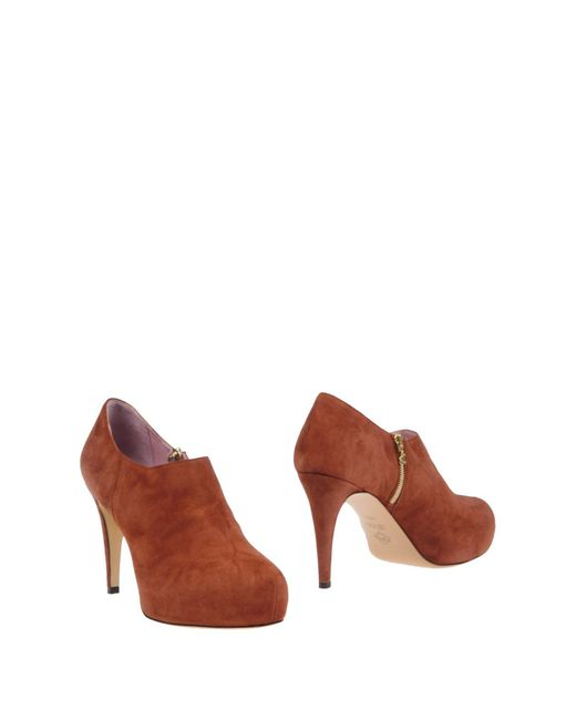 Noiselle By Eh - Brown Shoe Boots - Lyst