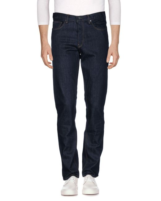 Michael Kors | Blue Denim Trousers for Men | Lyst