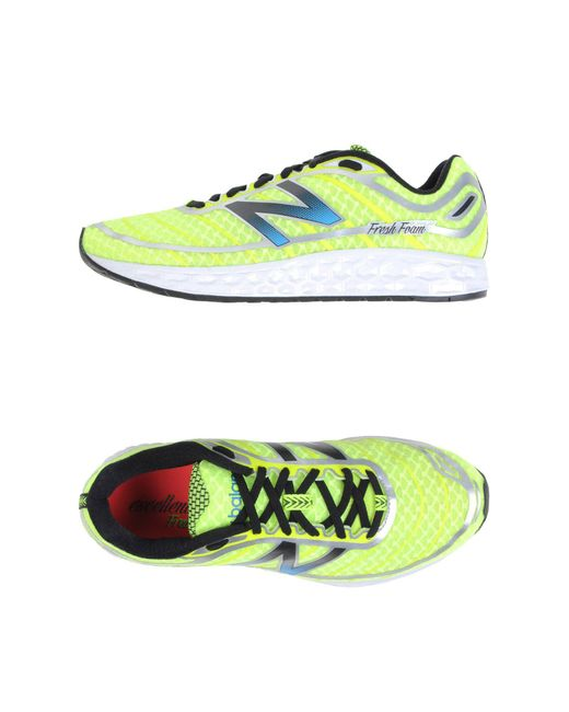 New Balance - Green Low-tops & Sneakers for Men - Lyst