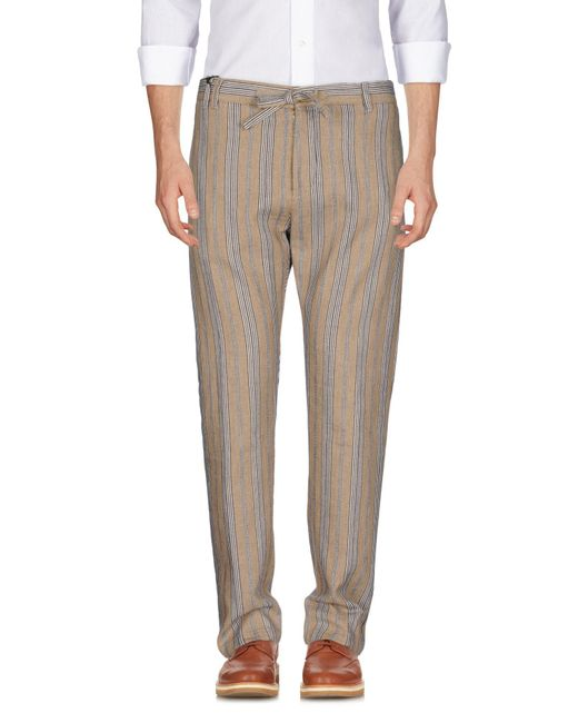 Officina 36 Natural Casual Pants for men