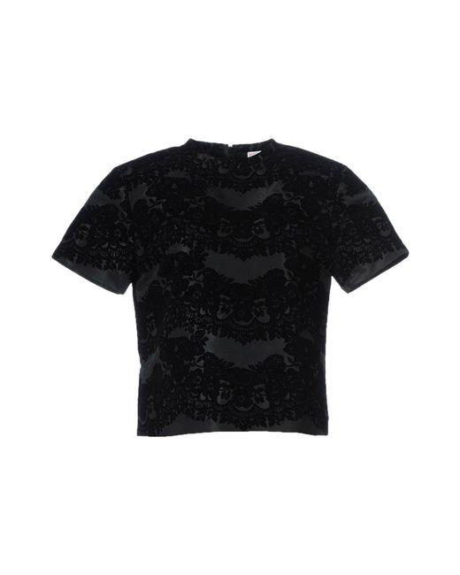 RED Valentino - Black Shirt - Lyst
