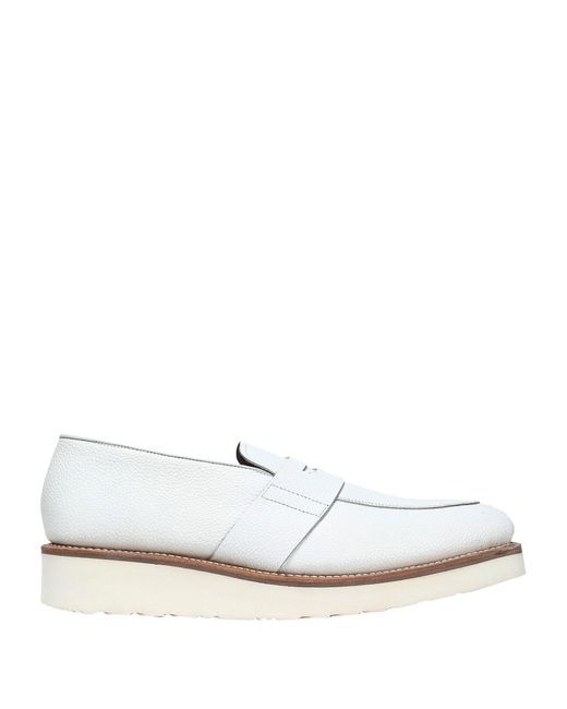 e36e3d9a838 Grenson Loafer in White - Save 52% - Lyst
