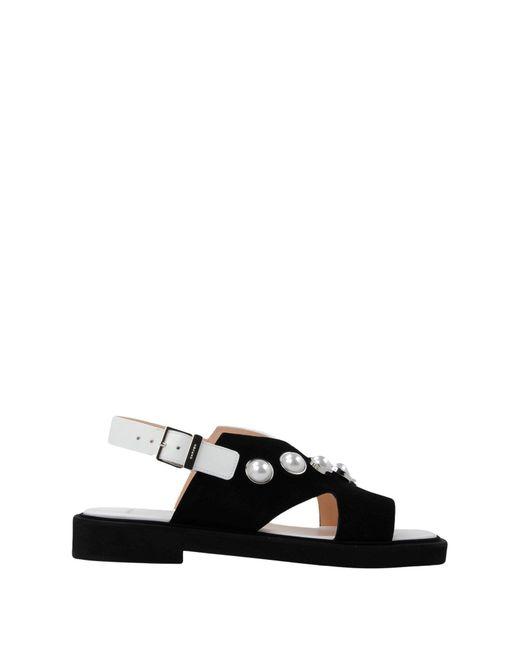 d8720e3b7 ... Carven - Black Sandals - Lyst ...