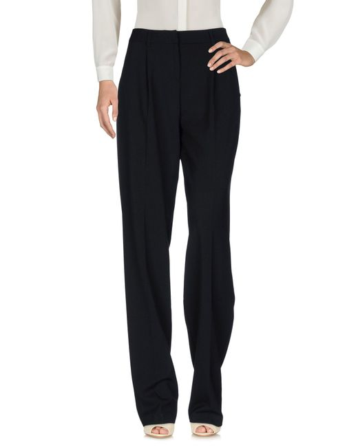 Who*s Who - Black Casual Pants - Lyst
