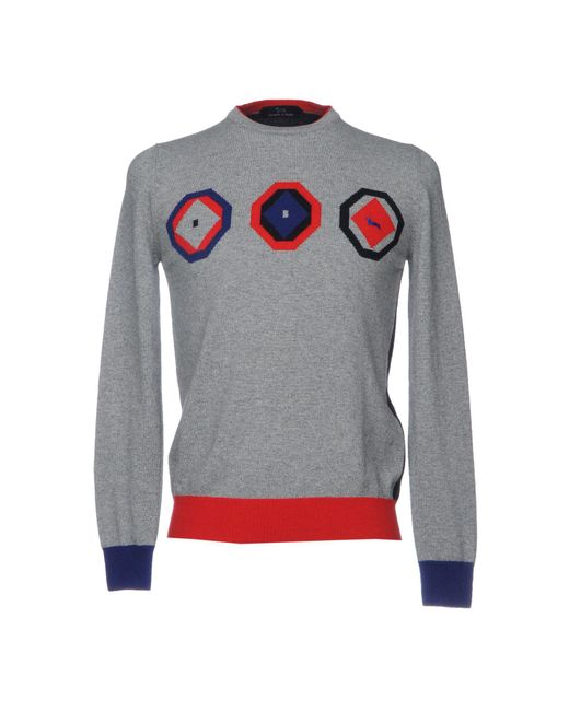 Harmont & Blaine - Gray Sweater for Men - Lyst