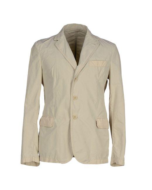 Aspesi   Natural Overcoat for Men   Lyst