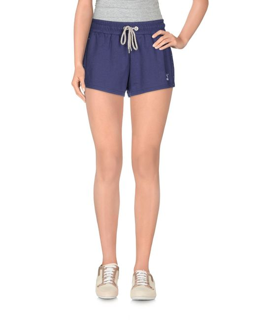 PUMA - Blue Shorts - Lyst