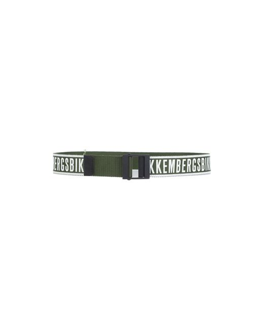Bikkembergs - Green Belt for Men - Lyst