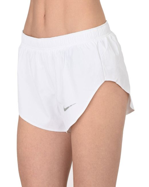 Nike - White Shorts - Lyst