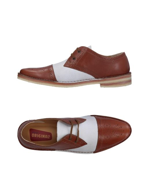 Clarks - Brown Lace-up Shoes for Men - Lyst
