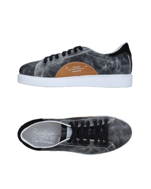 Primabase - Gray Low-tops & Sneakers for Men - Lyst