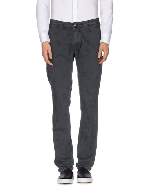 Macchia J - Gray Casual Pants for Men - Lyst